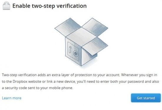 Nueva versión Dropbox mejora la seguridad con la doble autenticación 47