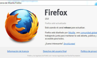 Mozilla corrige vulnerabilidades e implementa actualización silenciosa en Firefox 15 53