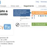 Audita tu privacidad en Internet con PrivacyFix, para Firefox y Chrome 64