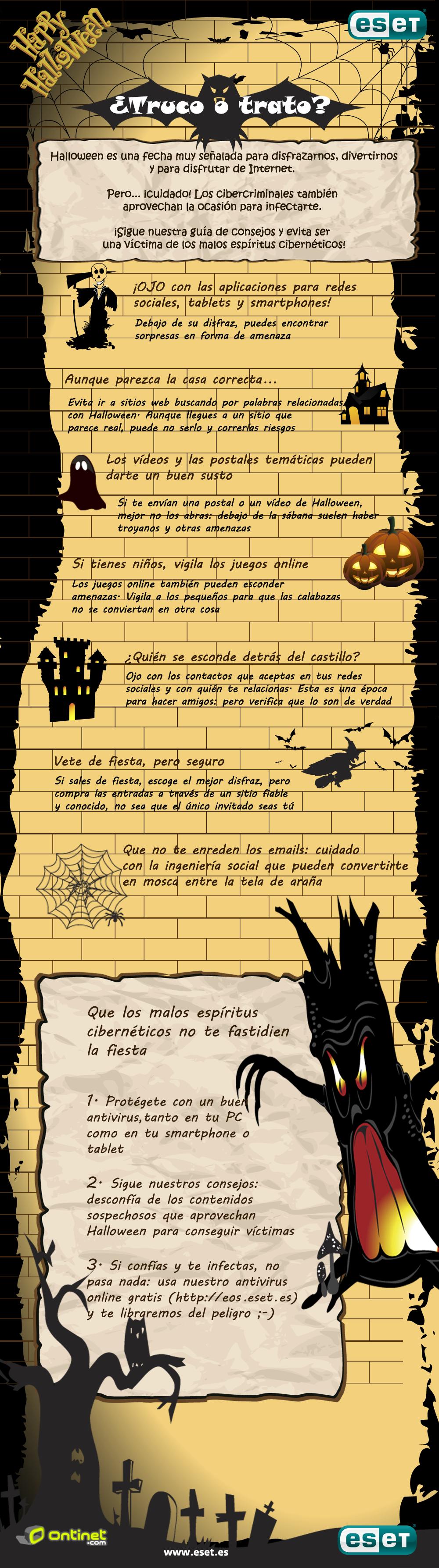 Consejos de ESET para un Halloween seguro