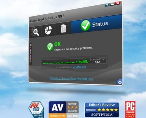 Panda Cloud, único antivirus gratuito en obtener Advanced+ en desinfección de malware 53