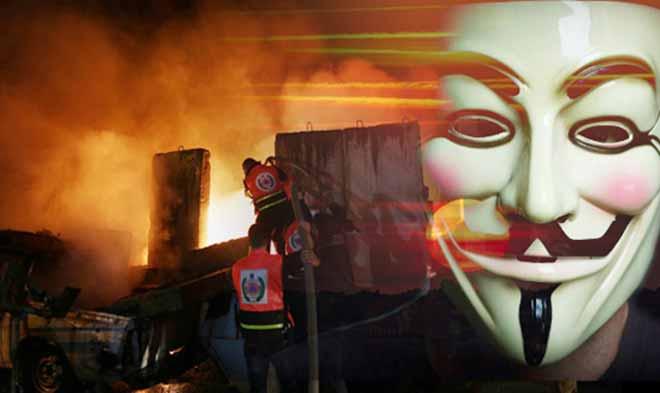 Sitios web del gobierno israelí bajo ataque, con Anonymous a la cabeza 49