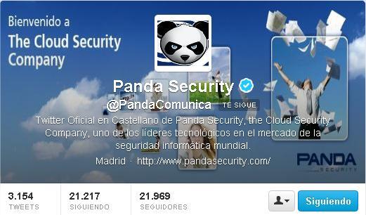 Suplantación de identidad en Twitter como fuente de malware 59