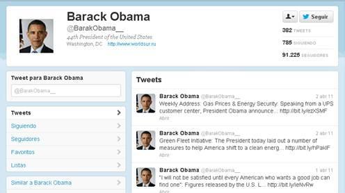 Suplantación de identidad en Twitter como fuente de malware 57