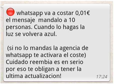 Los bulos y el spam siguen campando a sus anchas en Whatsapp 54