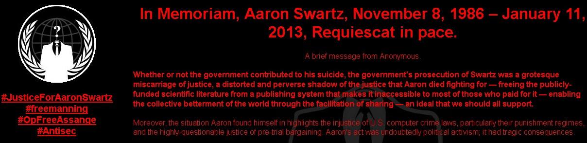 Anonymous hackea la web del MIT por la muerte de Aaron Swartz 52