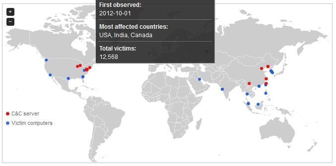 Trend Micro crea un mapa mundial de botnets 49