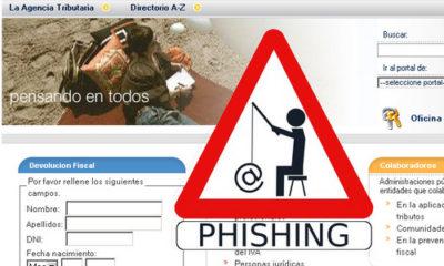Hacienda alerta de nueva campaña de phishing 64