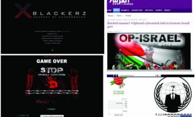 Ataques masivos de Anonymous contra portales web en Israel 56