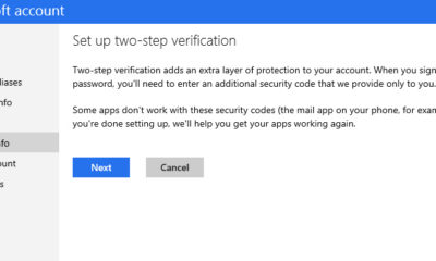 Microsoft también añadirá autenticación en dos pasos 58