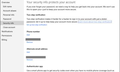 Microsoft confirma la implementación de la autenticación en dos pasos 62
