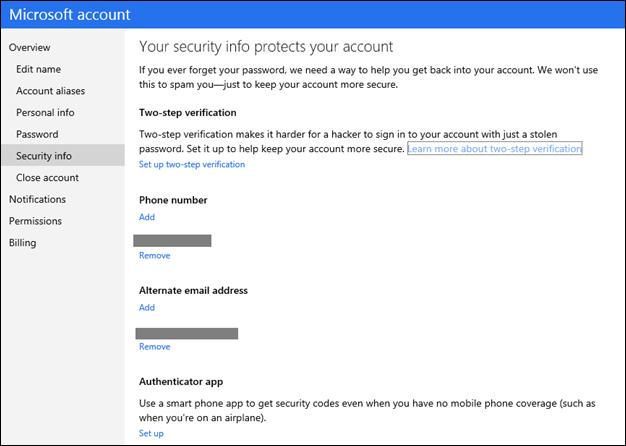 Microsoft confirma la implementación de la autenticación en dos pasos 47