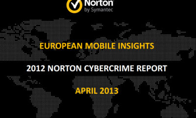 Informe Norton cibercrimen 2012: Datos claves de la movilidad europea 74