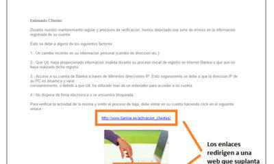 Alerta por oleada de phishing bancario 75