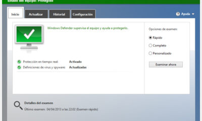 Microsoft Windows Defender pasa la certificación AV-Test 65