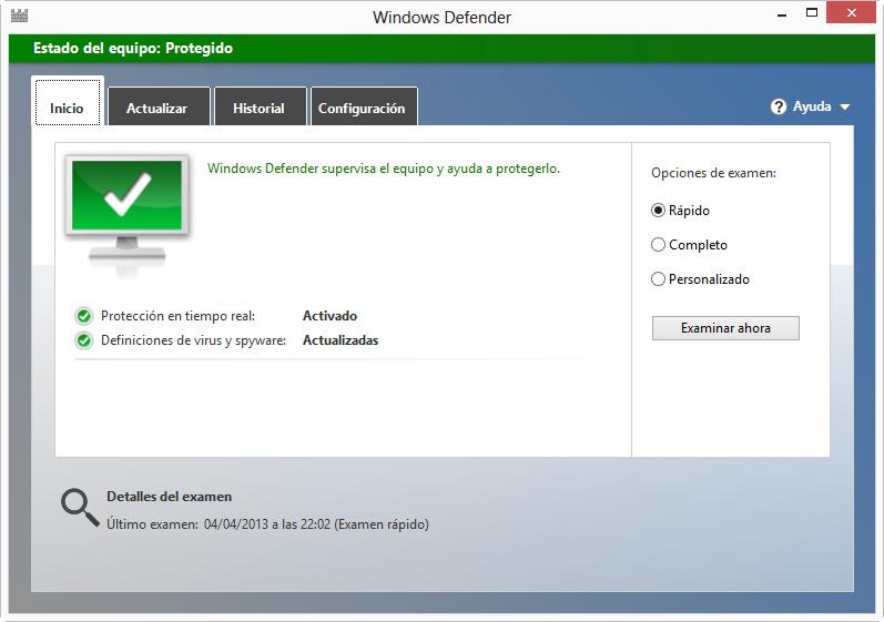 Microsoft Windows Defender pasa la certificación AV-Test 53