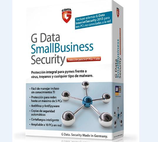 G Data SmallBusiness Security, solución de seguridad para pequeñas empresas 46