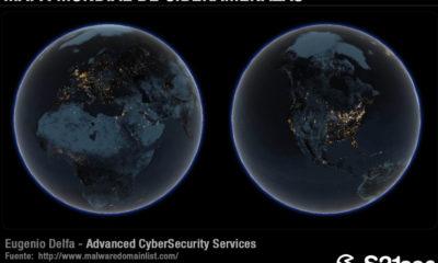 Mapa mundial de ciberamenazas en el Día de Internet 55