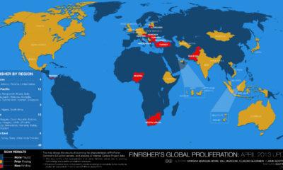 36 países utilizan FinFisher para espiar a sus ciudadanos 65