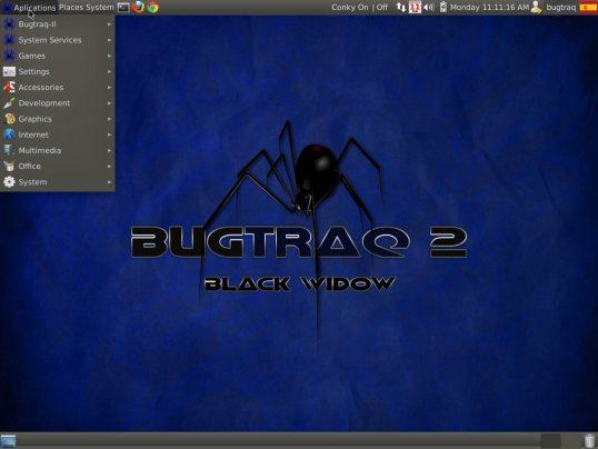 Bugtraq, nueva distribución GNU/Linux enfocada en el hacking 47