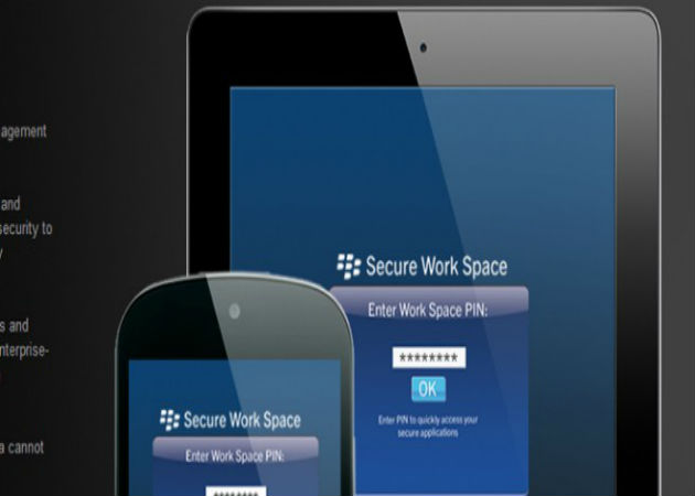 BlackBerry protege tus dispositivos iOS y Android con Secure Work