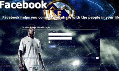 Real Madrid fake login