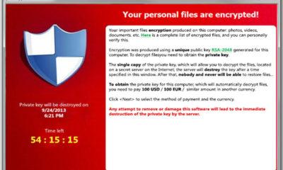 El Ransomware CryptoLocker ataca de nuevo 66