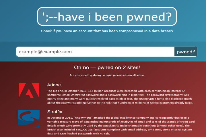 Quieres saber si te han hackeado el correo? Compruébalo en HaveBeenIPwned.com