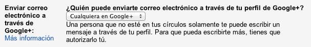 Google+-correo