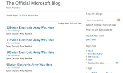 SEA hackea blogs y cuentas de Twitter de Microsoft 73