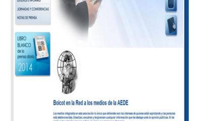 Anonymous hackea AEDE en protesta por la nueva LPI 78