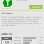 Publicidad de WhatsApp en Facebook, timo dirigido a usuarios españoles de Android 56