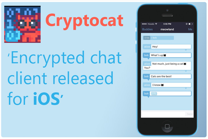 Cryptocat para iPhone y iPad, disponible 48