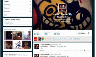 Hackean cuenta Twitter de Justin Bieber para enviar malware a 50 millones de usuarios 57
