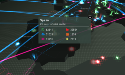 mapamundi interactivo de ciberataques