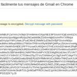 Cómo cifrar fácilmente tus mensajes de Gmail en Chrome 52