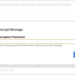 Cómo cifrar fácilmente tus mensajes de Gmail en Chrome 54