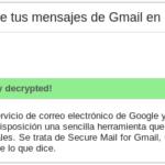 Cómo cifrar fácilmente tus mensajes de Gmail en Chrome 56