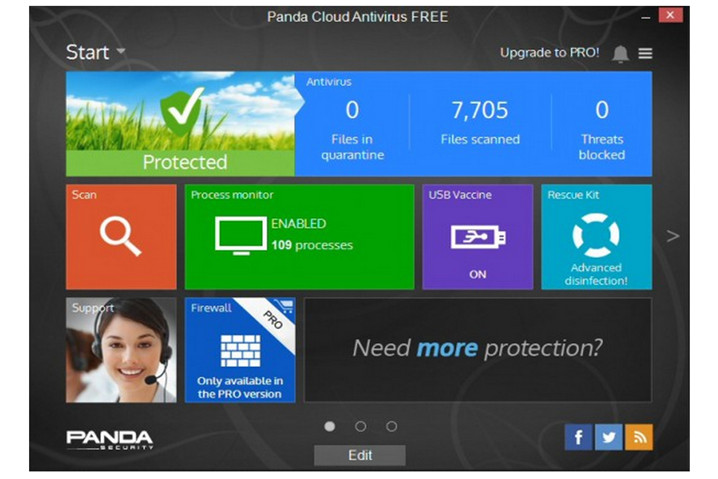 Panda Cloud Antivirus 3, disponible 47