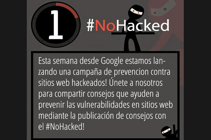 Buena acogida de la campaña #NoHacked de Google 49
