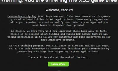 Google enseña a combatir vulnerabilidades XSS, jugando 56