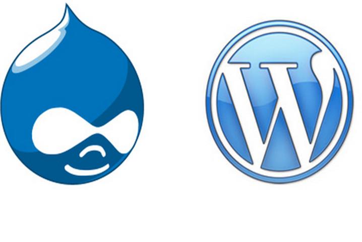 WordPress y Drupal