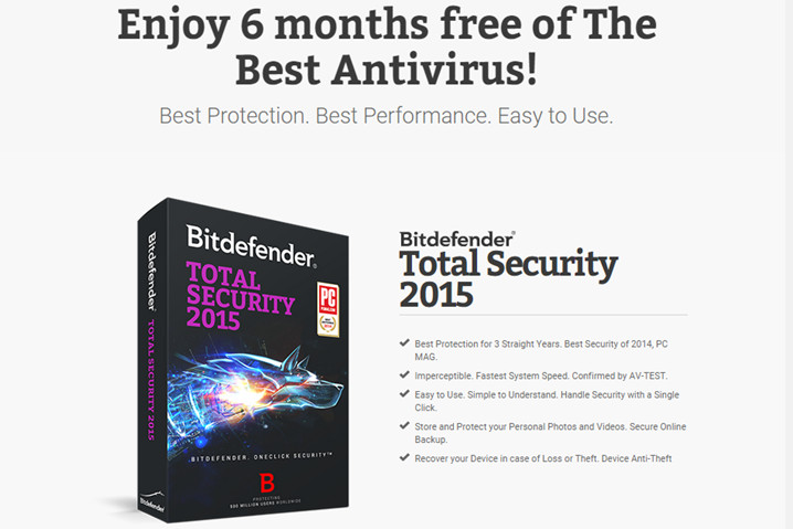 Bitdefender ofrece seis meses gratis la suite Total Security 2015 48