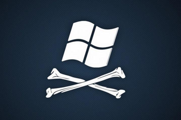 Copias piratas Windows 10