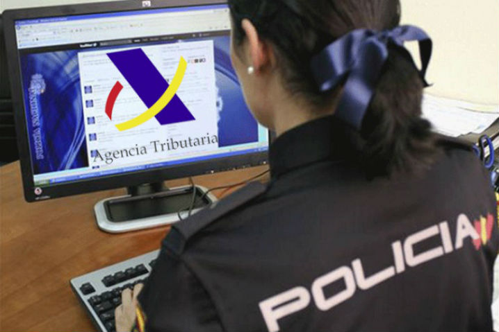 La Policía alerta de phishing con la Campaña de la Renta