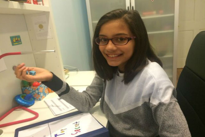 Una niña de 11 años vende contraseñas seguras por 2 dólares