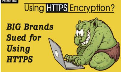 El troll de patentes CryptoPeak reclama la patente de HTTPS 78