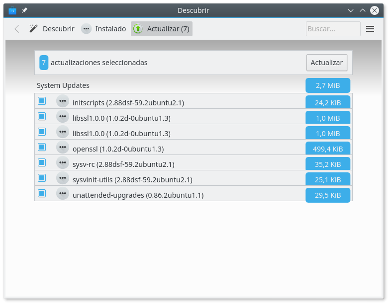 Actualizacion de OpenSSL en Ubuntu