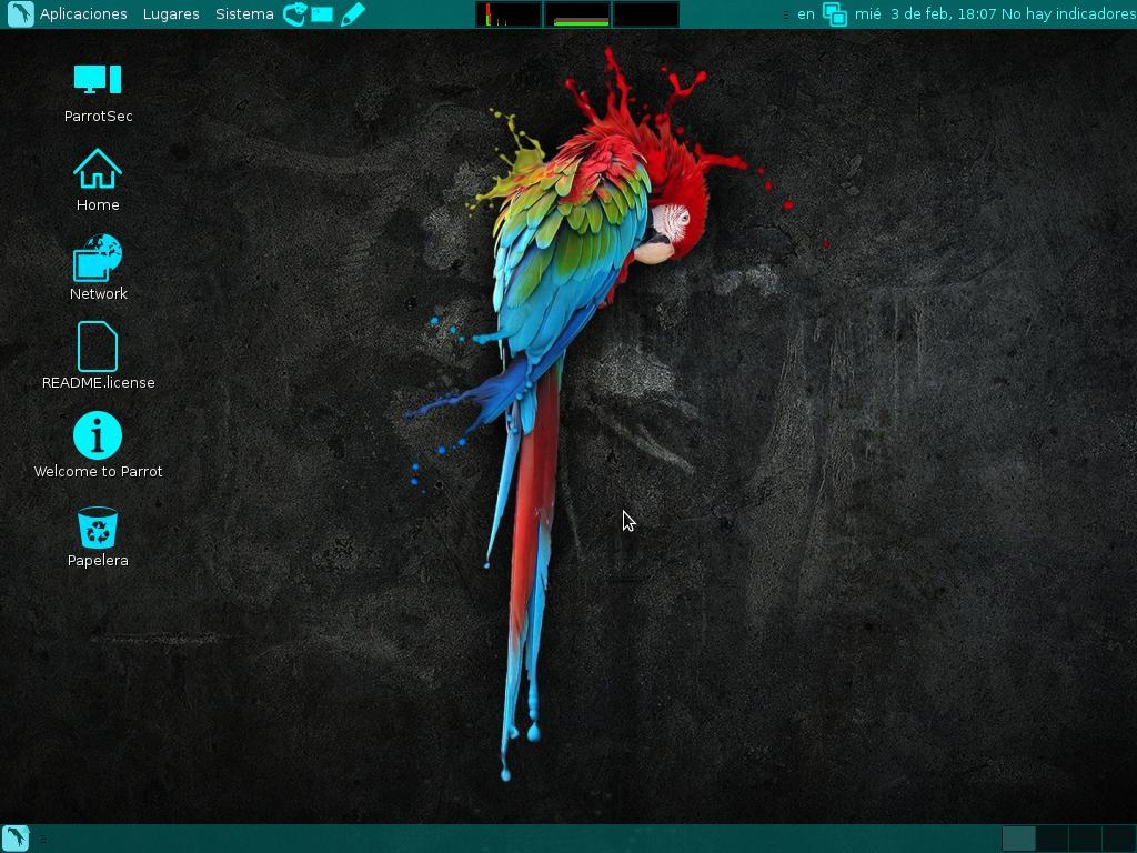 07 Parrot Security OS
