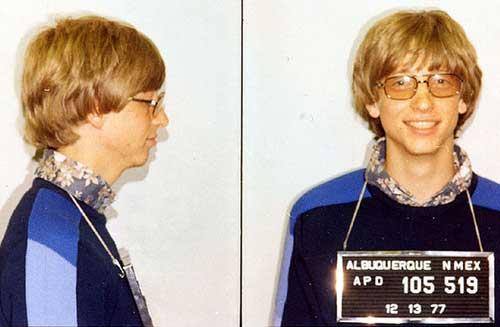 Bill Gates arrestado en Albuqerque - Nuevo Mexico